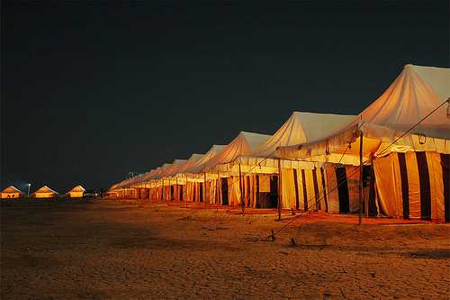 Tent City at Dhordo, Kutch Rann Utsav