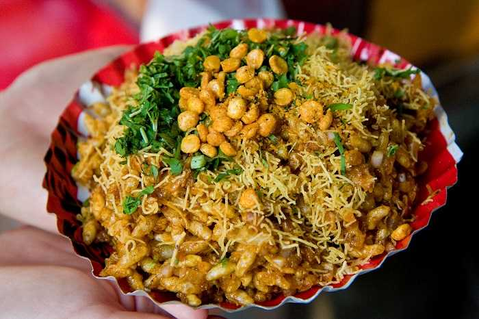 Top 23 places famous for local food in india bhel puri forumfinder Images