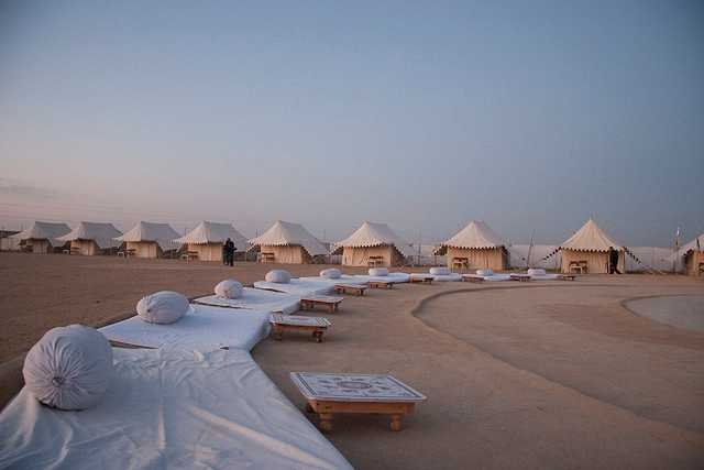 Camping, Desert Safari in Jaisalmer