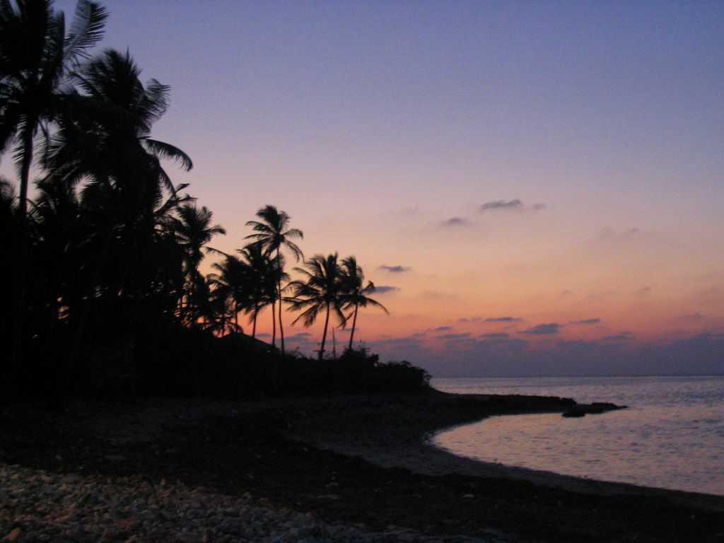 Beautiful sunset at Lakshwadeep, trip to lakshadweep islands