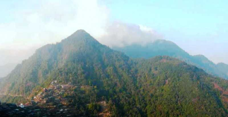 Mount Pauna Nagaland treks interesting places