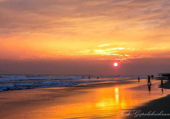Sunset at Puri, Romantic Getaways from Kolkata, Romantic Places Near Kolkata, Valentine's Day