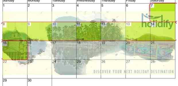 Long Weekends in 2015 India and Holiday Calendar - Save the dates!