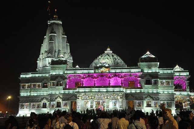 vrindavan, places to visit in march in India