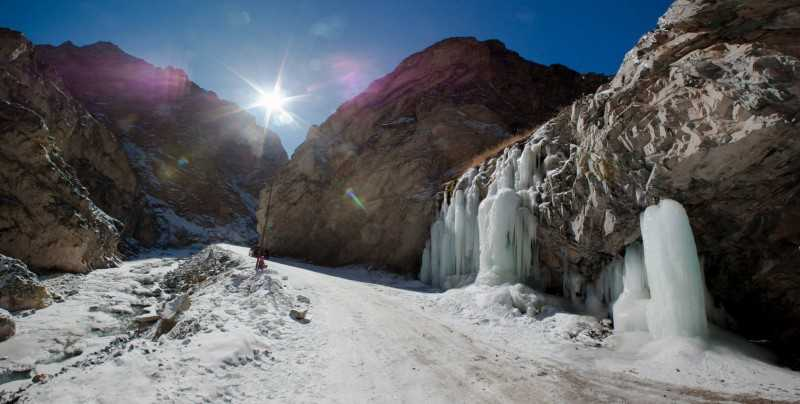 Ladakh in winter