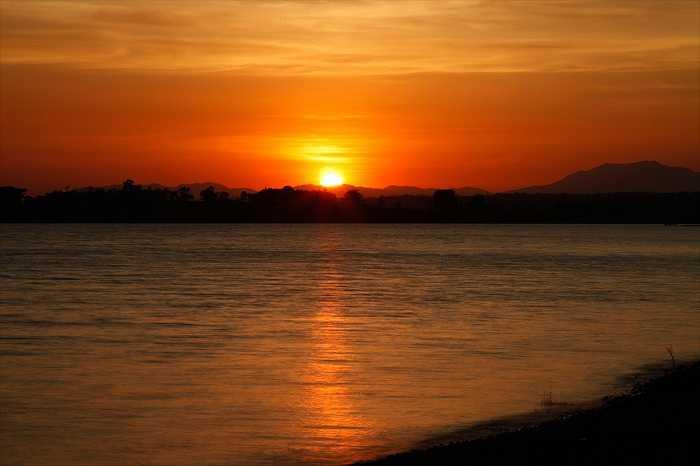 Sunset on Kabini River, Bangalore Romantic Getaways