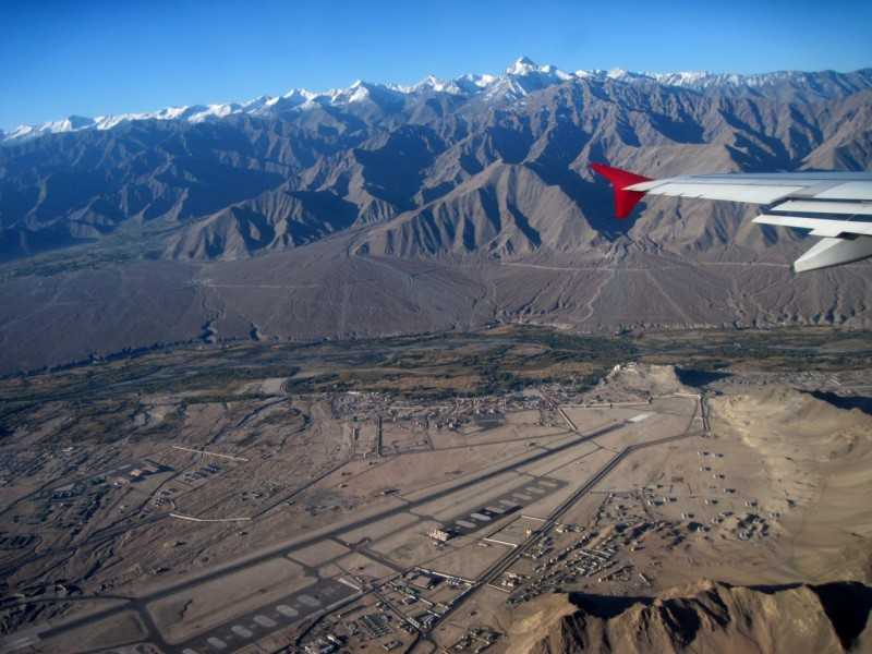 Ladakh Airport, one of the most beautiful airports in India