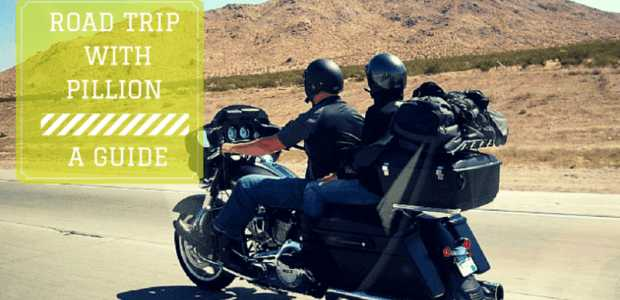 Tips for a long motorcycle road trip with a pillion