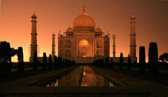 Image result for taj mahal at night at full moon nights