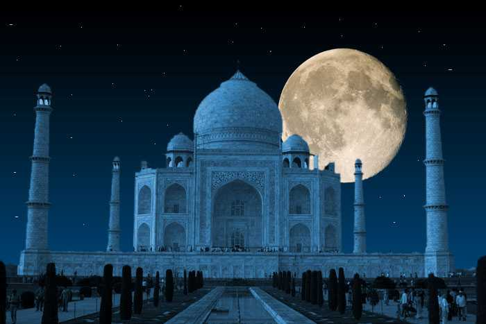 The Taj Mahal at Night
