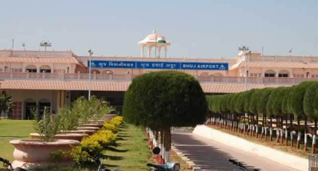 Bhuj airport in India