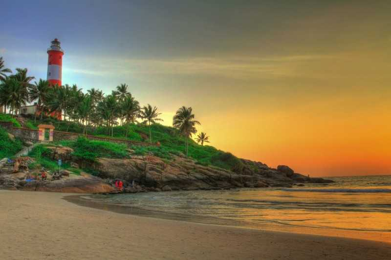 Kovalam Beach, Surfing in India