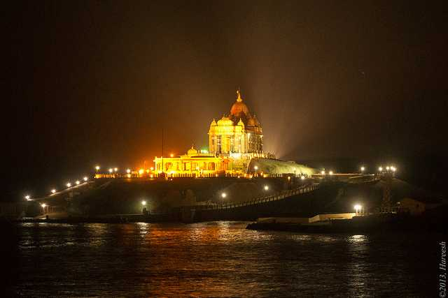 When India's tip awakens to the night Source