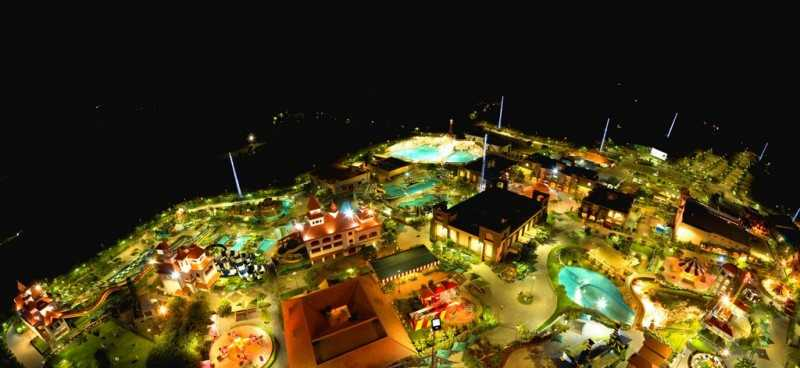 Wonderla Bangalore, at night, Best water parks in India