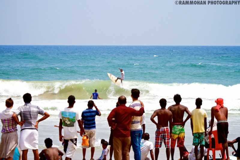 Spice Coast Open, Surfing in India