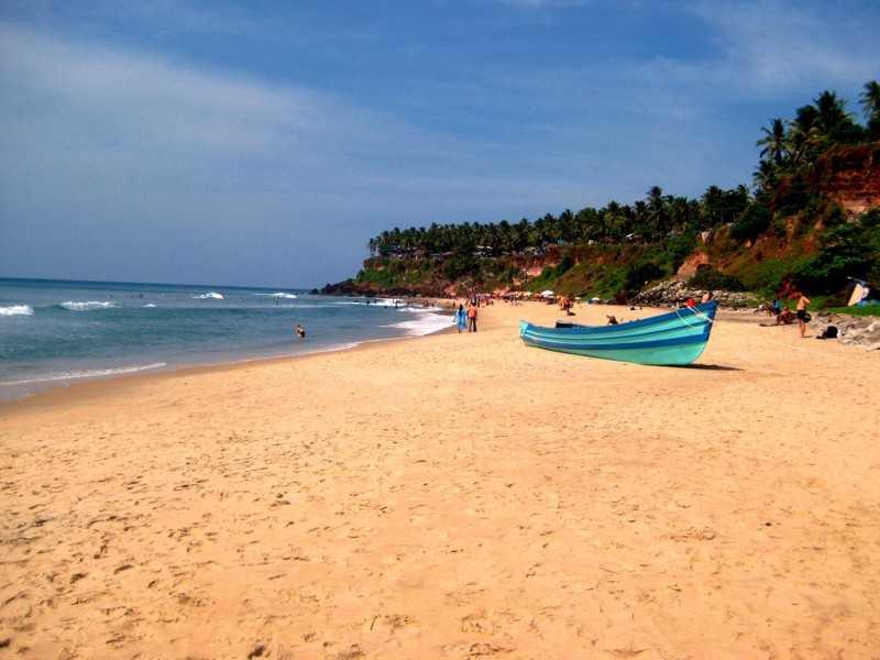 Varkala beach -Surfing in India