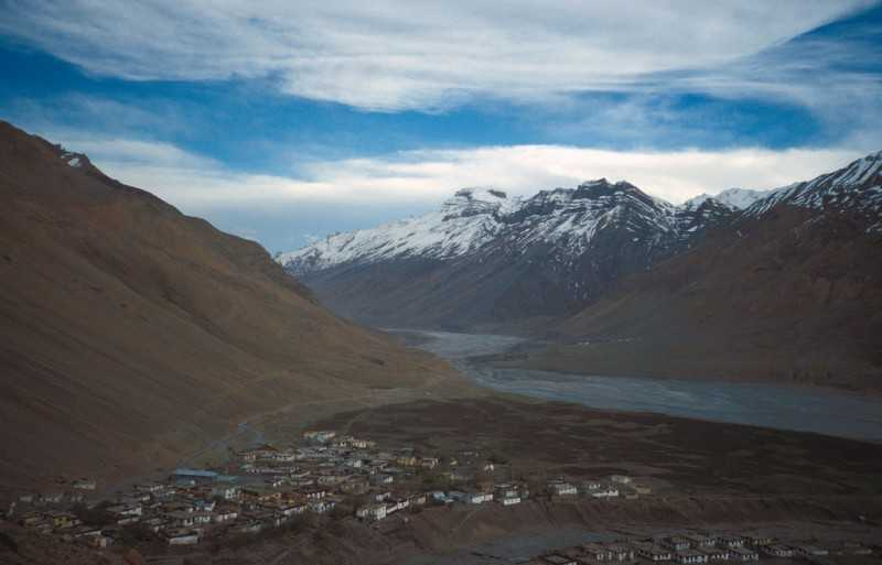 Spiti Lahaul - Of, well, Hills and Valleys