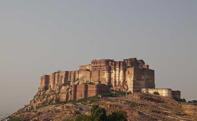 Mehrangarh fort  - Rajasthan Travelogie