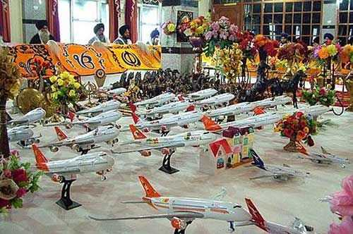 Airplane Gurudwara - Unusual Temples in India