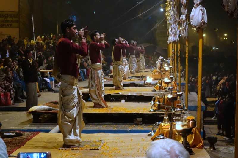 Beginning of the ritual (Source)