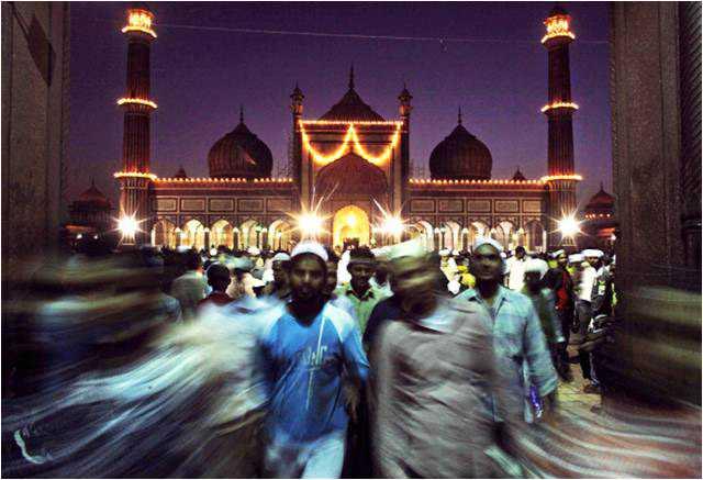 Id ul Fitr, Jama Masjid