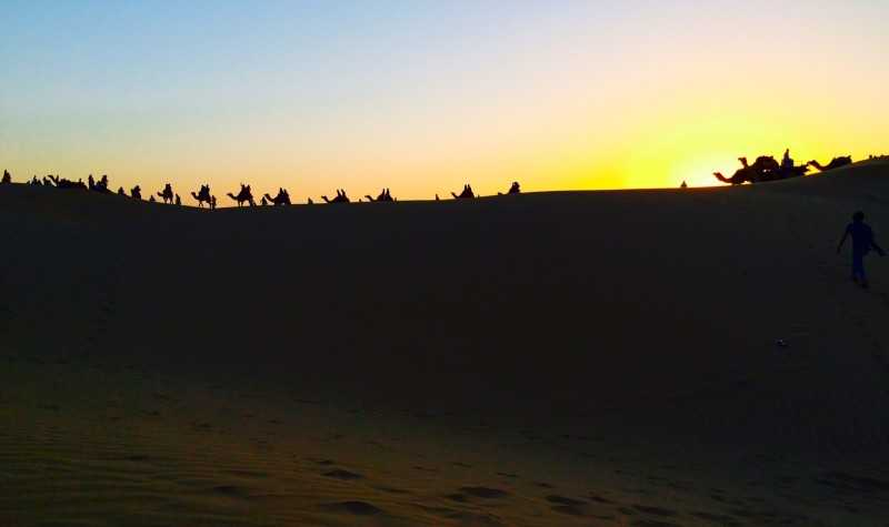Jaisalmer sunset- Rajathan