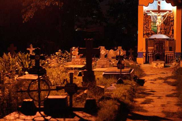 Cemetery in Bangalore, Haunted places in Bangalore
