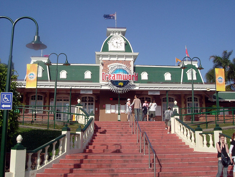 Dreamworld_Entrance, Water Park in India