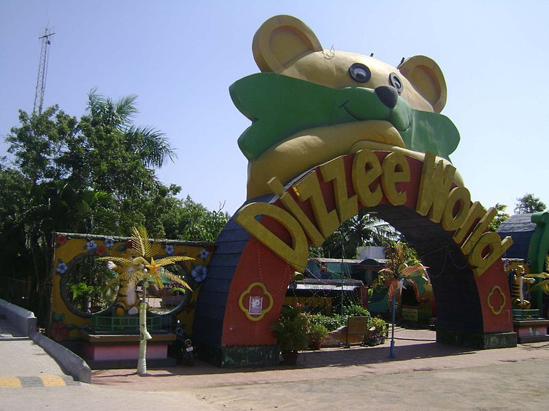 MGM_Dizzee_World,  Water Park in India