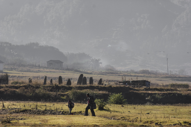 A village in East Khasi Hills, which may not be found on Google Maps