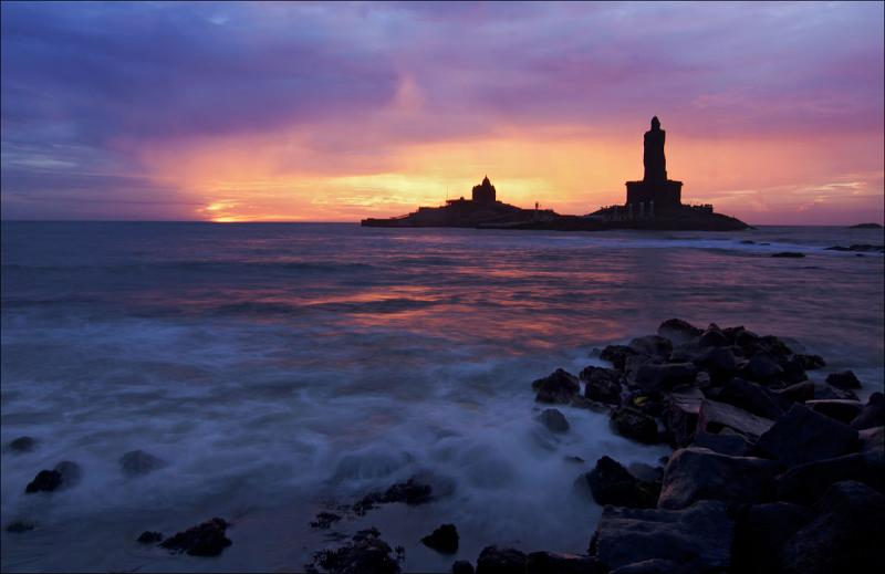 Kanyakumari, Places to visit in August in India