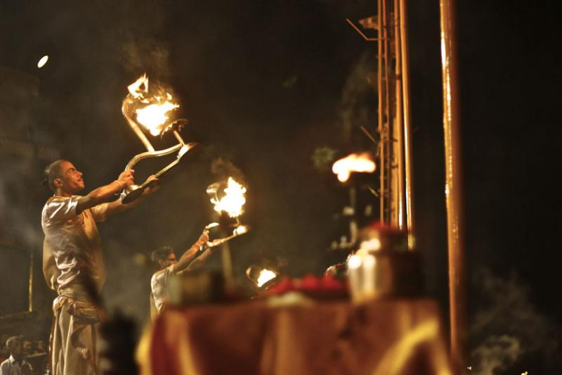 October 26 – The evening prayers of Varanasi