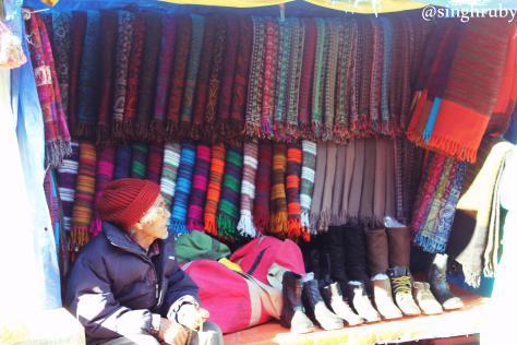Local woolen wears
