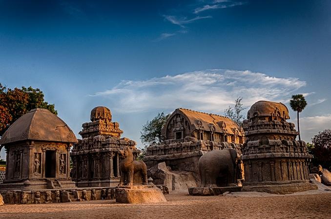 Pacharatha Caves, Mahabalipuram  Image by: Aasif Iqbal   Image Source