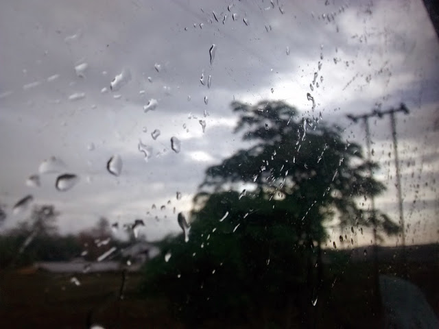 Rain drops keep falling on my, uhm, window!