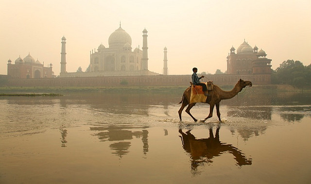 One of the Seven Wonders of the World: Taj Mahal (Source)
