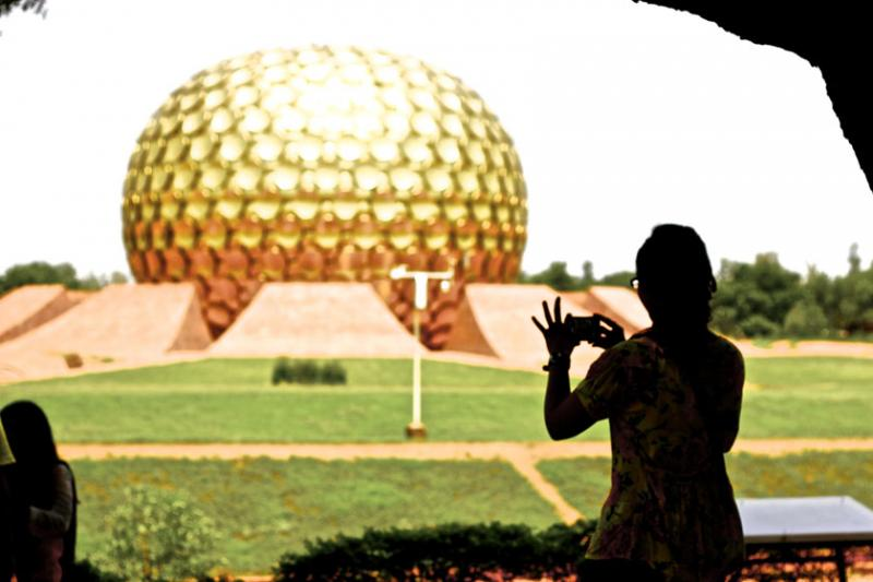 September 20th – Auroville in Pondicherry