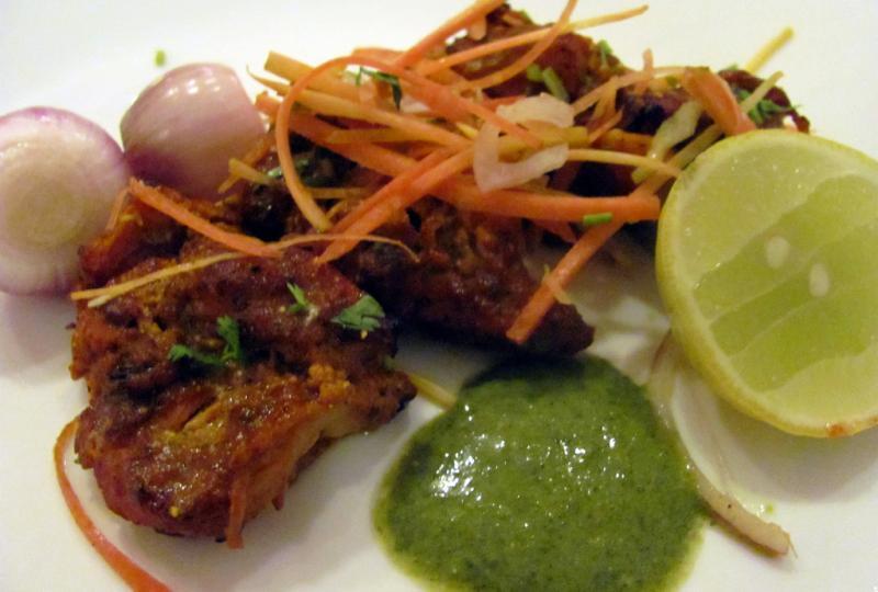 Salim's Kebab. Street food Delhi