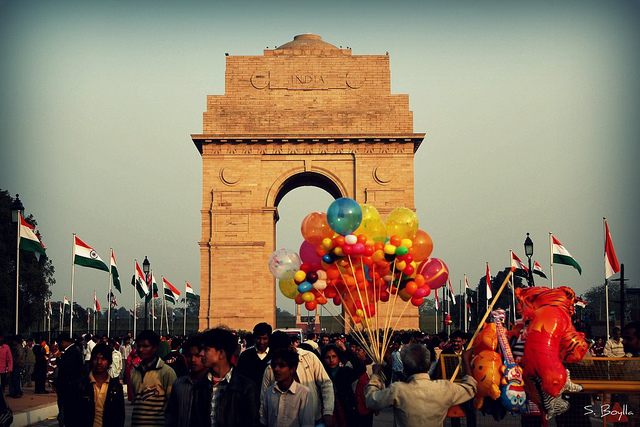 India Gate on Republic Day (Source)