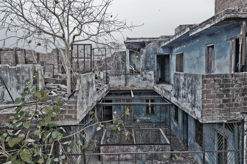 The supposedly haunted house in Greater Kailash(Source)