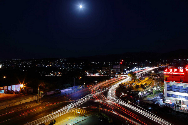 Pune at Night (Source)