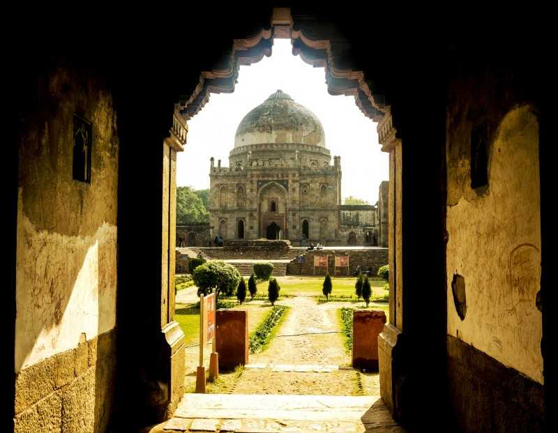 Delhi's Bada Gumbad - One of the most haunted places in Delhi (Source)