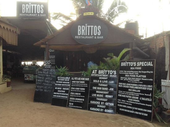 Brittos, Goa Shacks