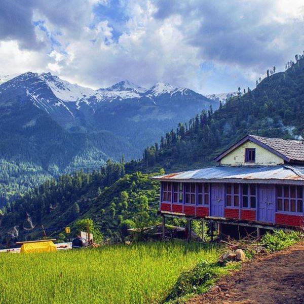 Grahan Village, Himachal Pradesh  Image Courtesy:   Image Source