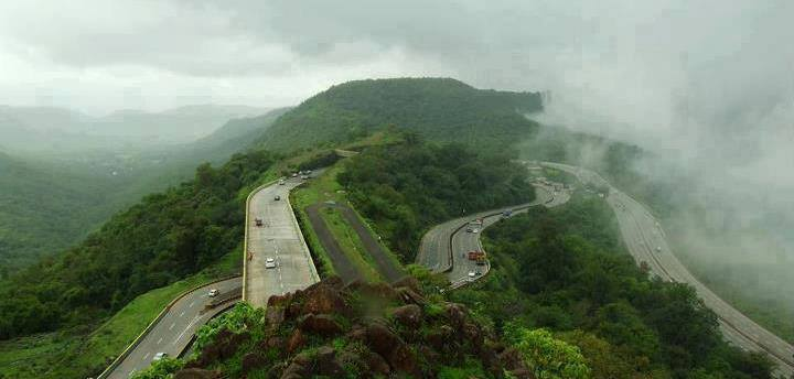 Lonavala - Khandala during Monsoons  Image Courtesy: Archeet Nayar  Image Source