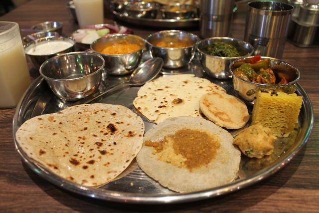 Rajasthani Thali, Vegetarian Restaurants in Delhi