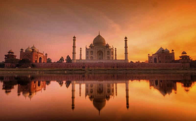 Taj Mahal, Golden Triangle Tour