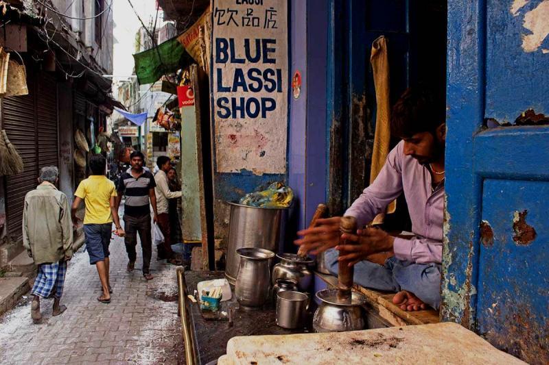 Blue Lassi shop (Source)