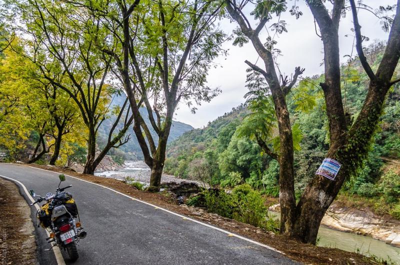 Enroute Rudraprayag from Ukhimath