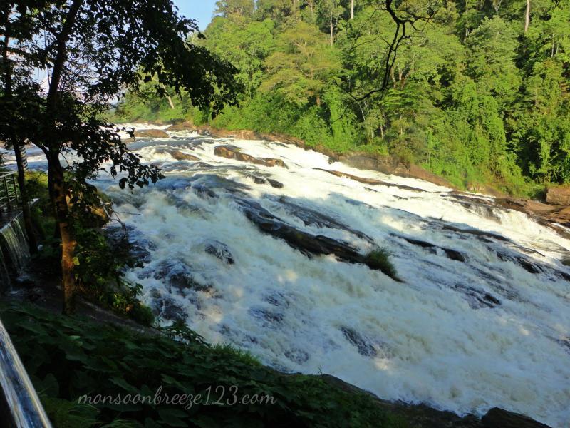 At Vazhachal Falls